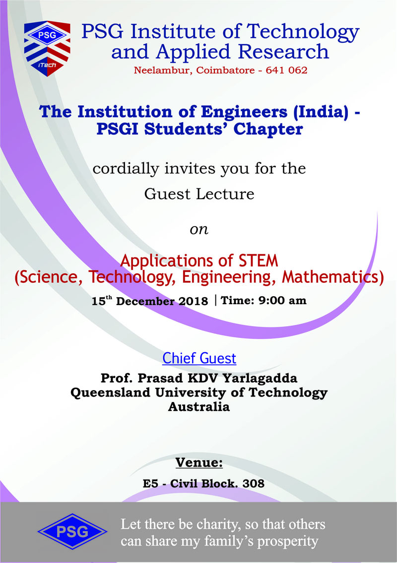 PSG Institute of Technology and Applied Research, Coimbatore
